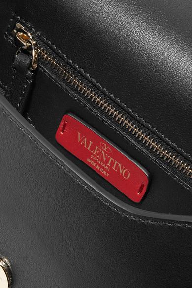 Valentino Rockstud Schultertasche aus Leder