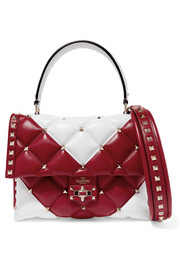 Valentino Valentino Garavani Candystud quilted leather shoulder bag