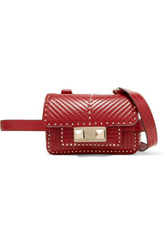 Valentino ZiggyStud quilted leather belt bag
