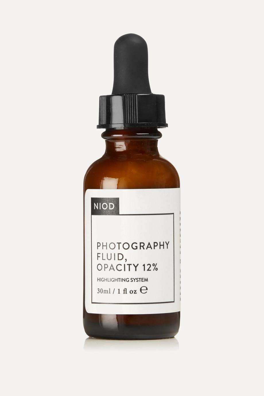 NIOD Photography Fluid, Opacity 12 %, 30 ml – Serum