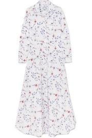 Evi Grintela Juliette floral-print cotton-poplin maxi dress