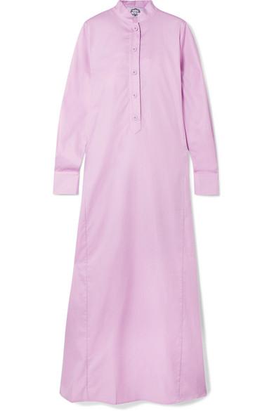EVI GRINTELA Jackie Cotton Maxi Dress in Lilac