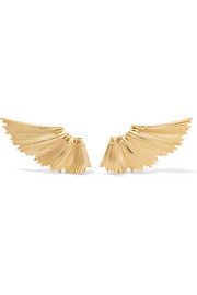 Meadowlark Eros gold-plated earrings