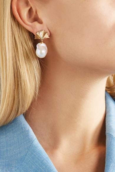 a6c9fd2bb627a4 Meadowlark   Vita 9-karat gold pearl earrings   NET-A-PORTER.COM