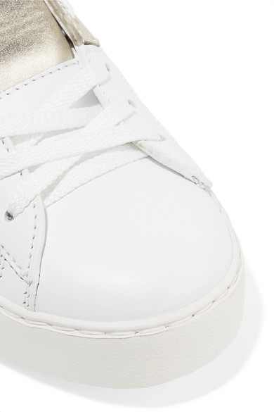 Valentino   Valentino Sneakers Garavani zweifarbige Sneakers Valentino aus Leder 78115b