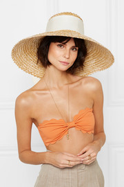 Mirabel straw hat