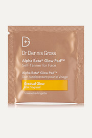 Dr. Dennis Gross Skincare Alpha Beta Glow Pad Self-Tanner for Face, 20 x 2.2ml