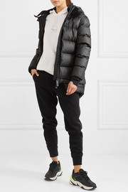 Memba hooded quilted shell down coat