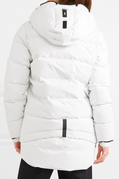 bbccd5fe4b6 TEMPLA. 3L quilted cotton-blend and tech-jersey down coat.  1