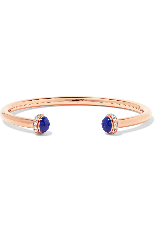 Piaget Bracelet en or rose 18 carats, lapis-lazuli et diamants Possession