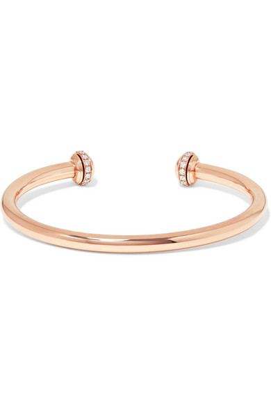 Possession 18-karat Rose Gold Diamond Cuff - M Piaget vrTa9Qb2C