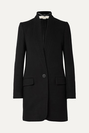 Stella McCartney Bryce melton wool-blend coat