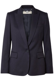 Stella McCartney Ingrid grain de poudre wool blazer