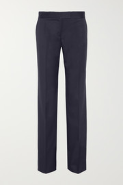 Jasmine wool-twill wide-leg pants