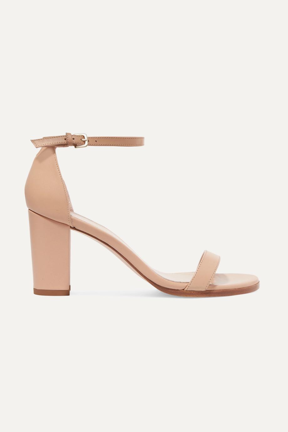 Stuart Weitzman NearlyNude leather sandals