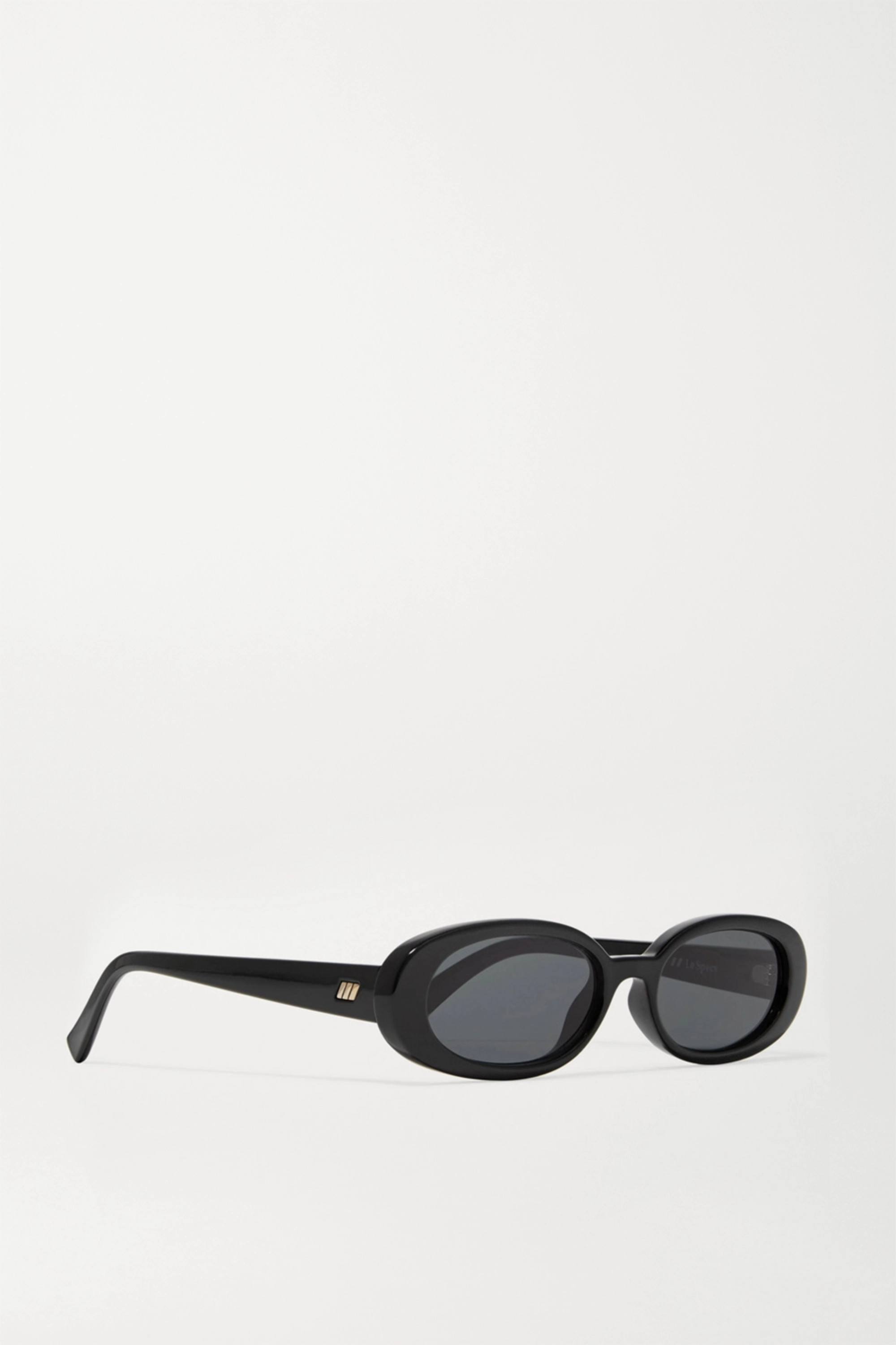 Le Specs Outta Love oval-frame acetate sunglasses