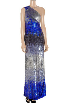 Antik Batik | Olivia sequined tulle one-shoulder gown | NET-A-PORTER.COM from net-a-porter.com