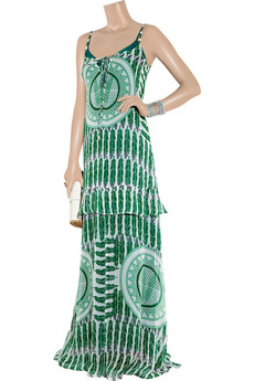 Antik Batik | Julian printed silk-chiffon maxi dress | NET-A-PORTER.COM from net-a-porter.com