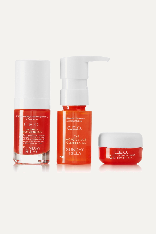 Sunday Riley Vitamin C Set – Hautpflegeset