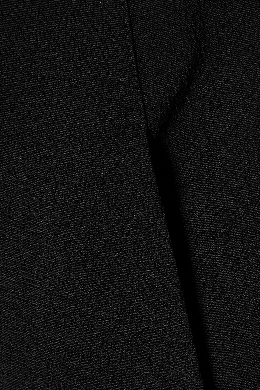 Rick Owens Draped cotton-blend crepe gown
