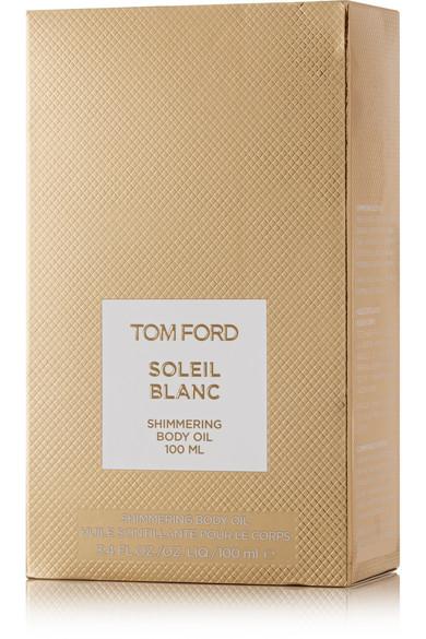 tom ford beauty   soleil blanc shimmering body oil, 100ml   net-a