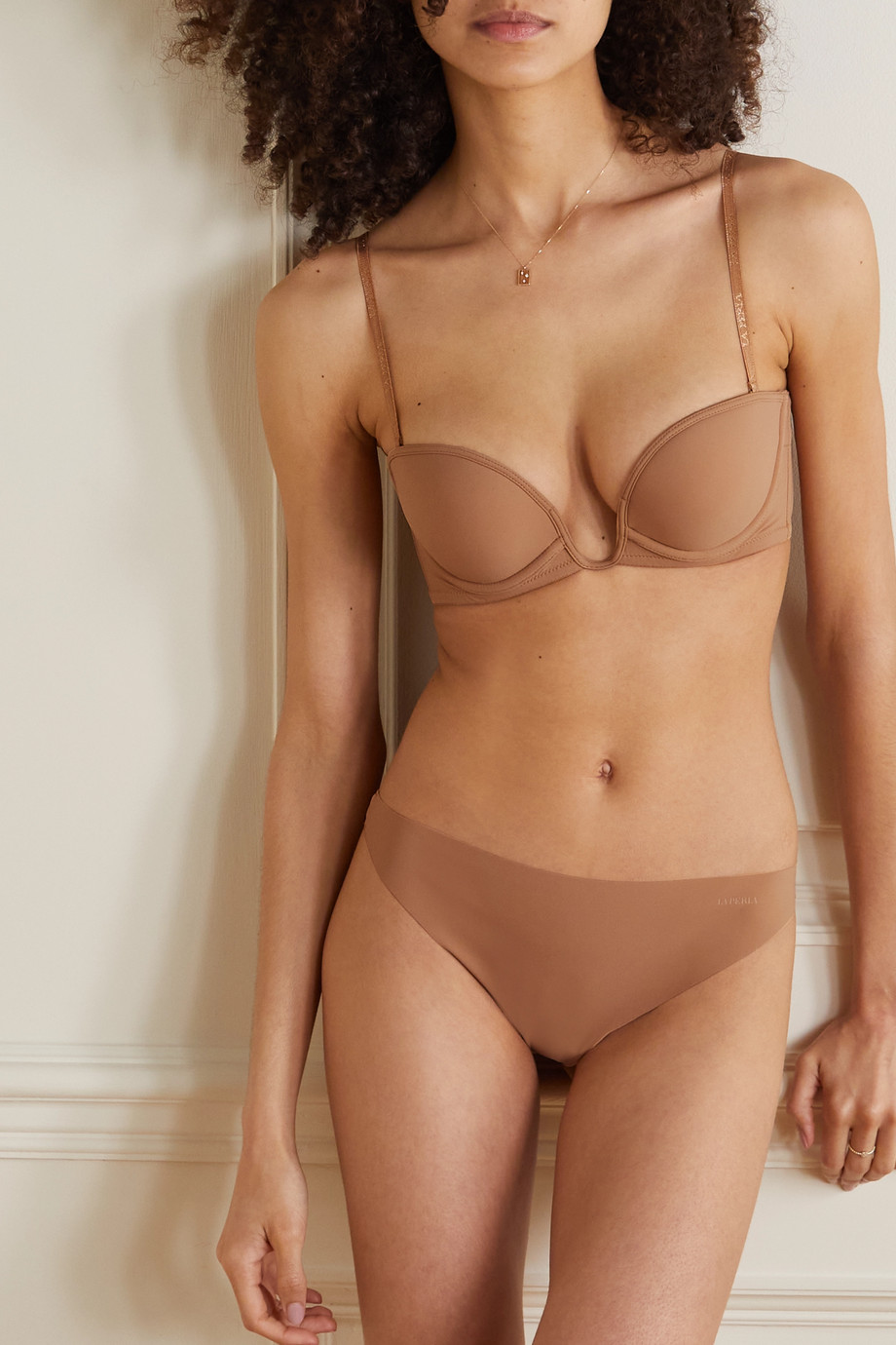La Perla Second Skin String aus Stretch-Jersey