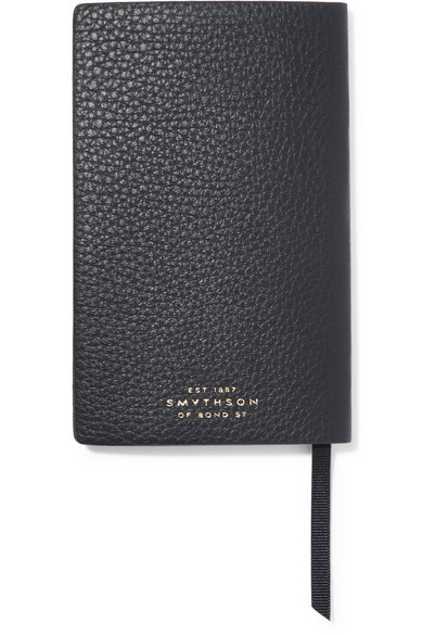 Panama 2019 Textured-leather Diary - Blue Smythson gmBnjW3V