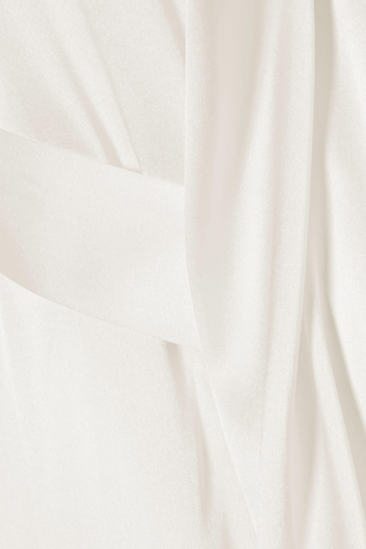 La Perla Peignoir en satin de soie stretch