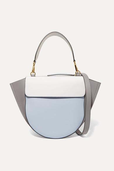 Color Hortensia Bag Wandler Medium Leather Shoulder Block F8w8hq For - Color-hortensia