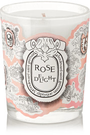 Rose Delight scented candle, 190g