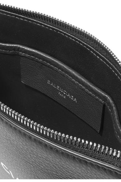 Balenciaga Everyday bedruckter Beutel aus strukturiertem Leder