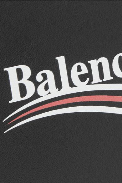 Balenciaga Bedruckter Lederbeutel