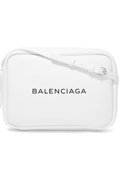 Billige Browse Balenciaga Bedruckte Kameratasche aus strukturiertem Leder Auslass Footlocker Bilder ICkoIH2