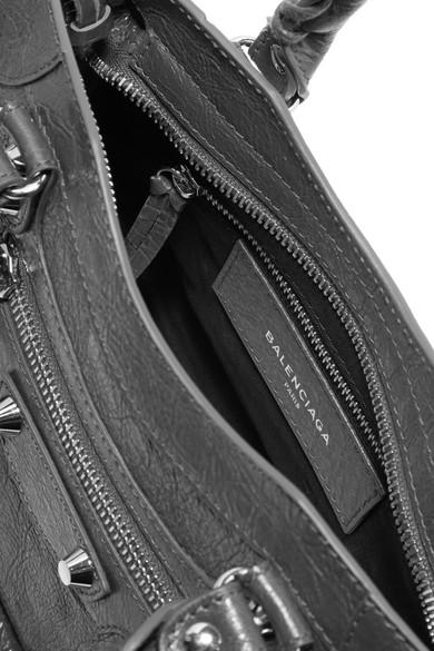 Balenciaga Totes Classic City mini textured-leather tote