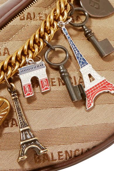 Balenciaga Souvenir Gürteltasche aus Jacquard mit Lederbesatz und Verzierungen Freies Verschiffen Erstaunlicher Preis Genießen Shopping-Spielraum Online 3fsYyqm