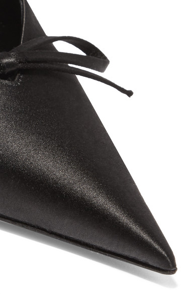 Balenciaga | | Balenciaga Knife Slingback-Pumps aus Satin cb289a