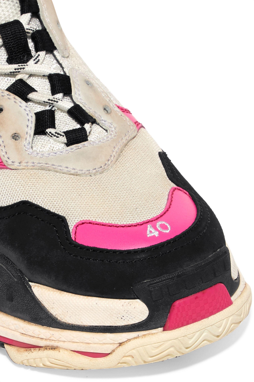Sneakers Women Men Balenciaga Triple S Black Grey lock25gs ca