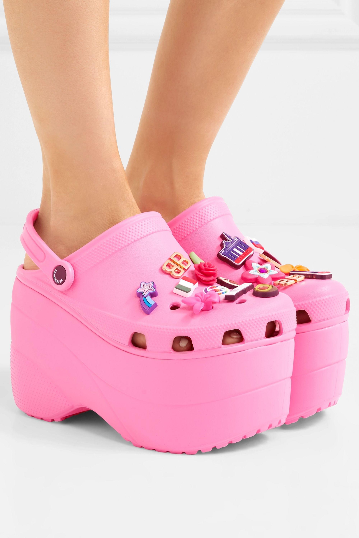 gucci crocs pink