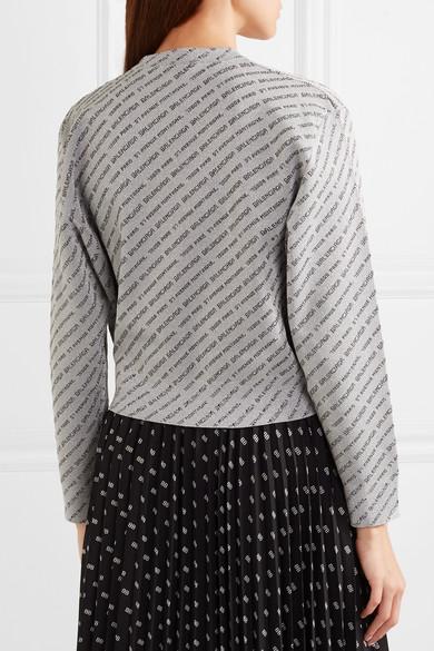 Wie Viel Balenciaga Pullover aus Lurex® mit Glitter-Finish Verkauf Mode-Stil Freies Verschiffen Hohe Qualität lNv8B