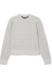 Glittered Lurex sweater