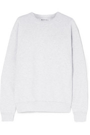 Balenciaga Embroidered cotton-blend jersey sweatshirt