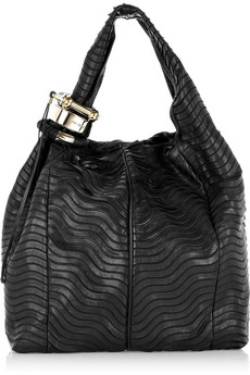 Jimmy Choo - Saba textured leather tote from net-a-porter.com