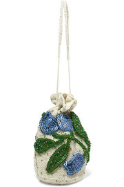 Orsay embellished chiffon pouch