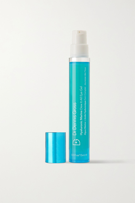 Dr. Dennis Gross Skincare Hyaluronic Marine Dew It Right Eye Gel, 15ml