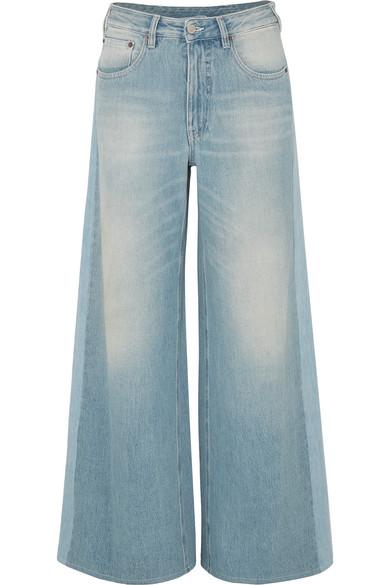 High Rise Wide Leg Jeans by Mm6 Maison Margiela