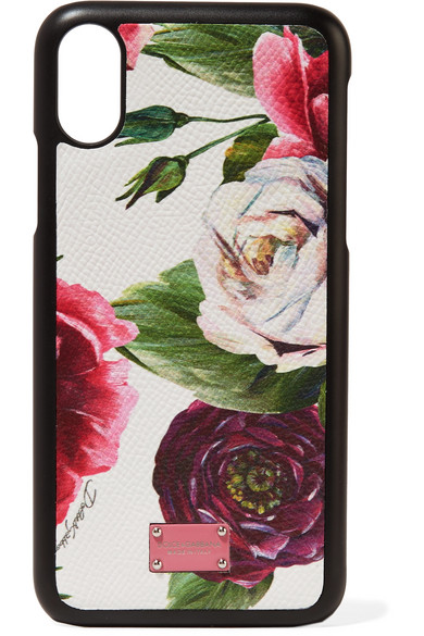 Iphone Case Textured X Print Leather Floral SxtqXn