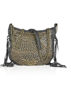 Antik Batik | Enzo studded leather shoulder bag | NET-A-PORTER.COM from net-a-porter.com