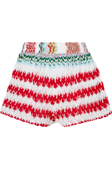 Mare Donna Crochet Knit Shorts by Missoni