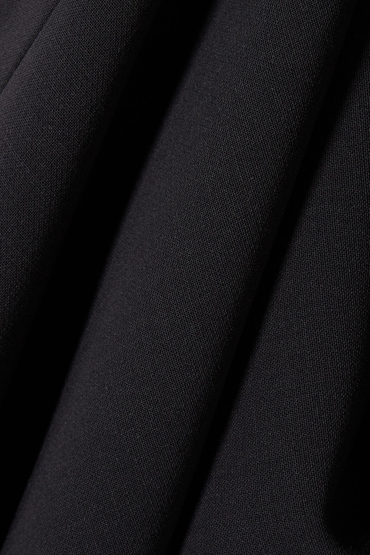 Max Mara Fluted wool-blend midi dress