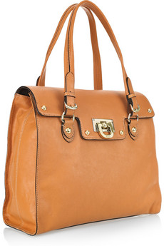 DKNY - Leather tote from net-a-porter.com